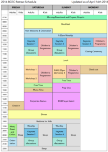 2016 BCEC Retreat Schedule portrait IMG
